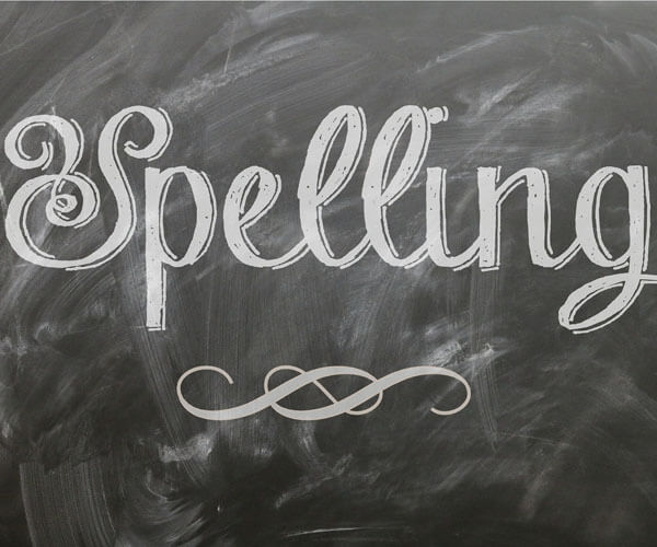 Spelling-vocabulary logo