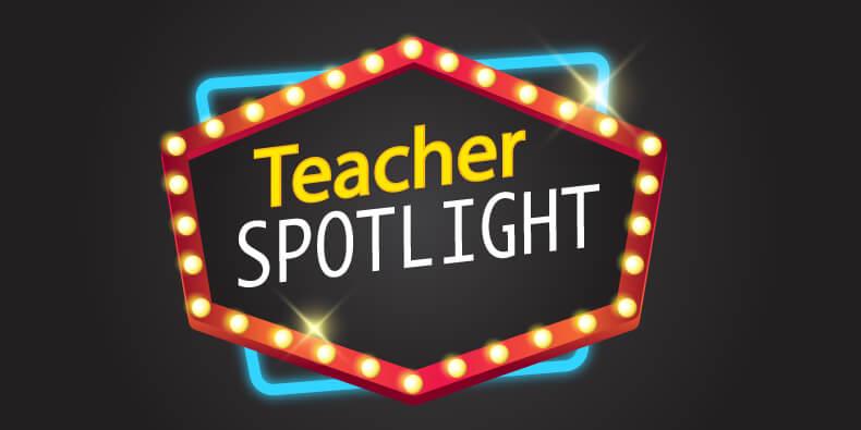Teacher Spotlight Header